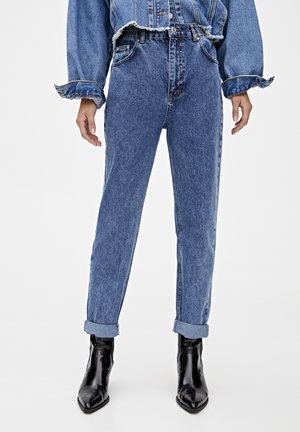 MOM - Jeans Tapered Fit - royal blue