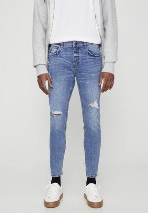 HELLBLAUE PREMIUM-SKINNY-FIT-JEANS 05684509 - Skinny džíny - stone blue denim
