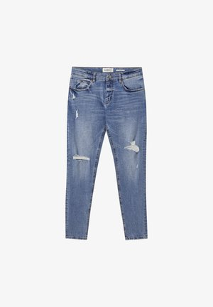 Jeans Skinny Fit - stone blue denim