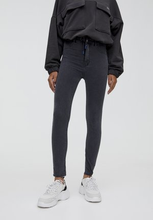 Jeansy Skinny Fit - dark grey