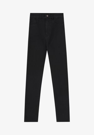 Jeans Skinny Fit - mottled black