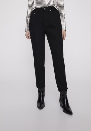 BASIC-MOM - Straight leg jeans - dark grey