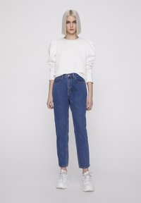PULL&BEAR - BASIC-MOM - Jeans Straight Leg - blue - 1