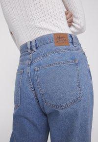 PULL&BEAR - BASIC-MOM - Straight leg jeans - blue denim - 4