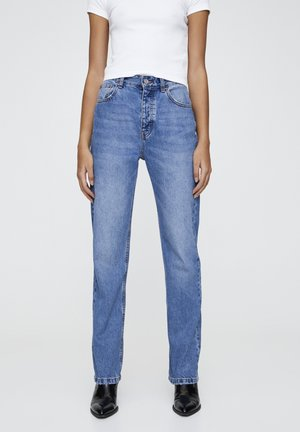 JEANS IM REGULAR-FIT AUS BAUMWOLLE 09682334 - Straight leg jeans - blue denim