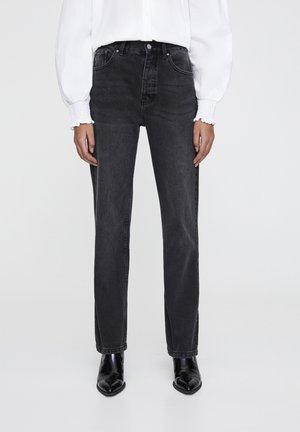 JEANS IM REGULAR-FIT AUS BAUMWOLLE 09682334 - Straight leg jeans - black
