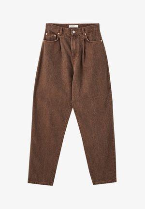 BASIC - Jean droit - brown