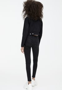 PULL&BEAR - PUSH UP - Jeans Skinny - mottled black - 2