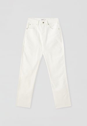COMFORT FIT MOM - Jeans Slim Fit - white