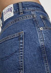 PULL&BEAR - COMFORT FIT MOM - Jeans Slim Fit - dark blue - 5