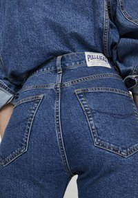 PULL&BEAR - COMFORT FIT MOM - Jeans Slim Fit - dark blue - 3