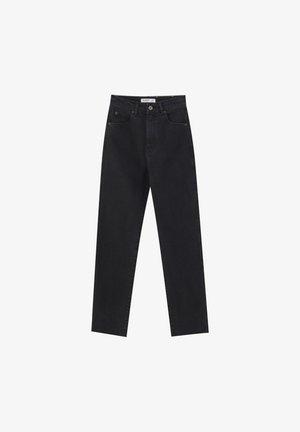 COMFORT FIT MOM - Jean slim - black