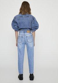 PULL&BEAR - Jean slim - light-blue denim - 2