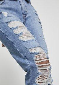 PULL&BEAR - Jean slim - light-blue denim - 3