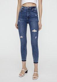PULL&BEAR - Jeans Skinny - blue - 0