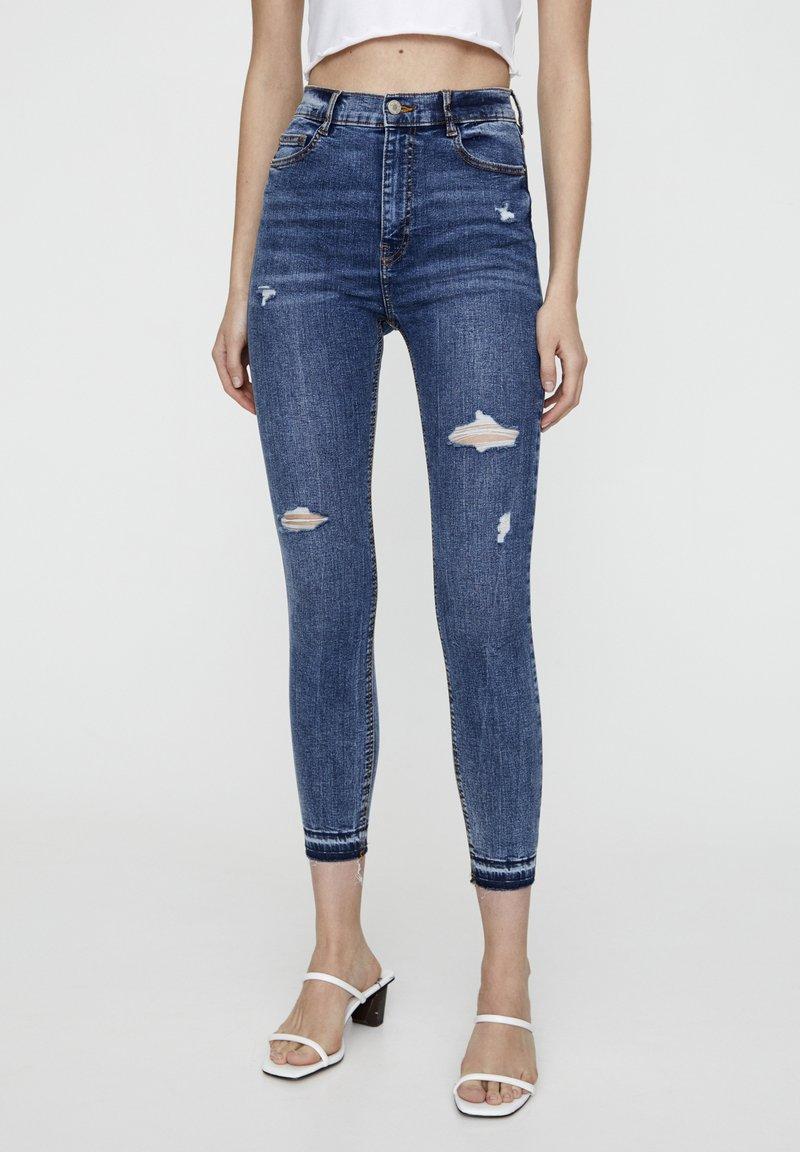 PULL&BEAR - Jeans Skinny - blue