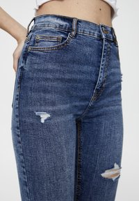 PULL&BEAR - Jeans Skinny - blue - 3