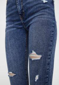 PULL&BEAR - Jeans Skinny - blue - 4
