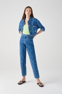 PULL&BEAR - SMILEY - Jeans Tapered Fit - blue - 1
