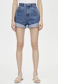 PULL&BEAR - Denim shorts - blue - 3