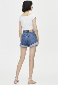 PULL&BEAR - Jeans Short / cowboy shorts - blue - 2