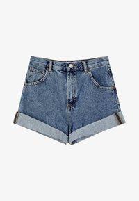 PULL&BEAR - Denim shorts - blue - 5