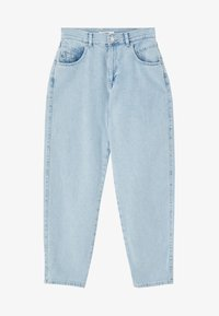PULL&BEAR - MIT HOHEM BUND - Jeansy Relaxed Fit - light blue - 5