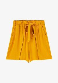 PULL&BEAR - Shortsit - yellow - 4