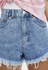 PULL&BEAR - Jeans Shorts - blue