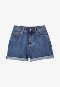 PULL&BEAR - Szorty jeansowe - blue - 6