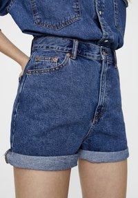 PULL&BEAR - Szorty jeansowe - blue - 3