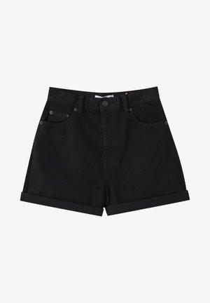 Szorty jeansowe - metallic black