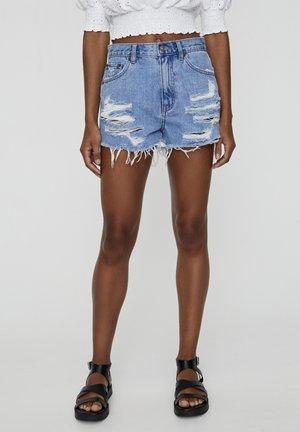 Szorty jeansowe - dark blue