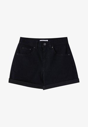 Szorty jeansowe - black