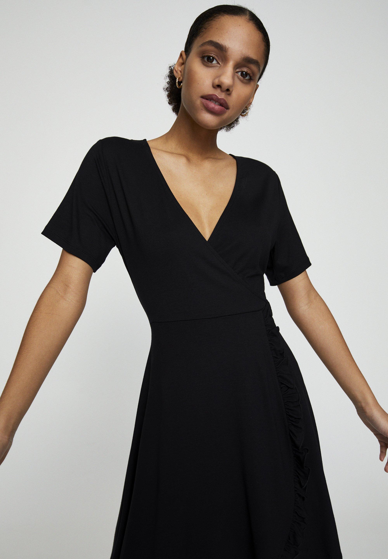 PULL&BEAR Sukienka letnia - black