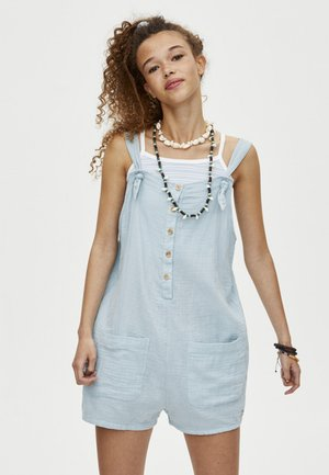 Overall / Jumpsuit - light blue