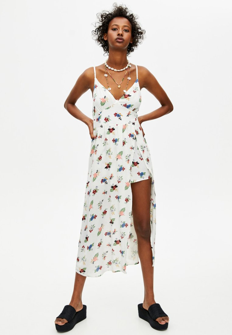 PULL&BEAR - Maxi dress - off-white