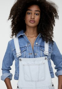 PULL&BEAR - Tuinbroek - light blue - 3