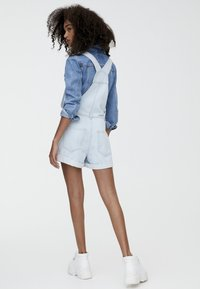 PULL&BEAR - Tuinbroek - light blue - 2