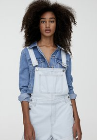 PULL&BEAR - Tuinbroek - light blue - 4