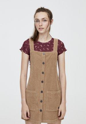 MIT KNÖPFEN - Sukienka letnia - brown
