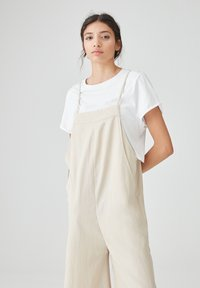 PULL&BEAR - Dungarees - beige - 2