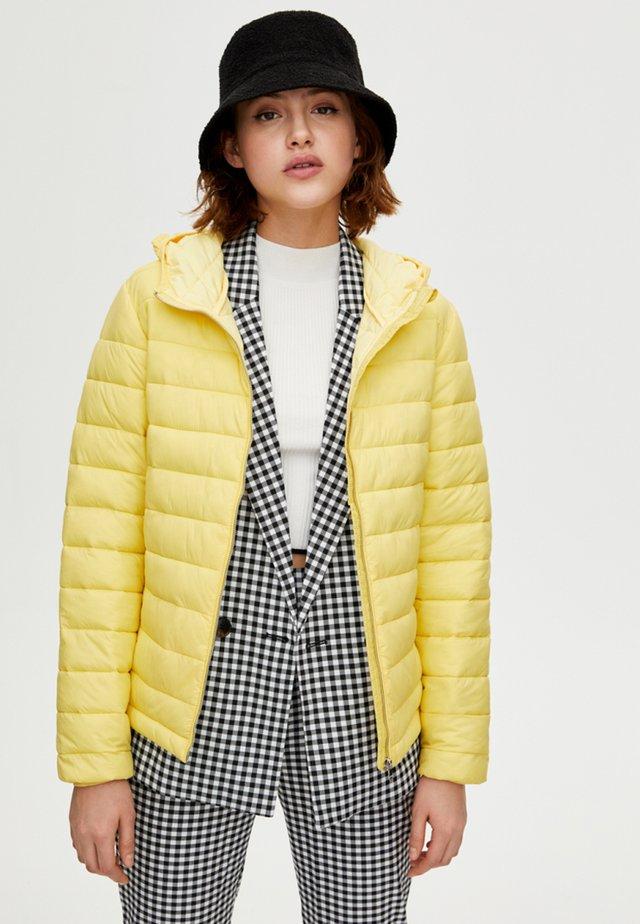Kurtka zimowa - yellow