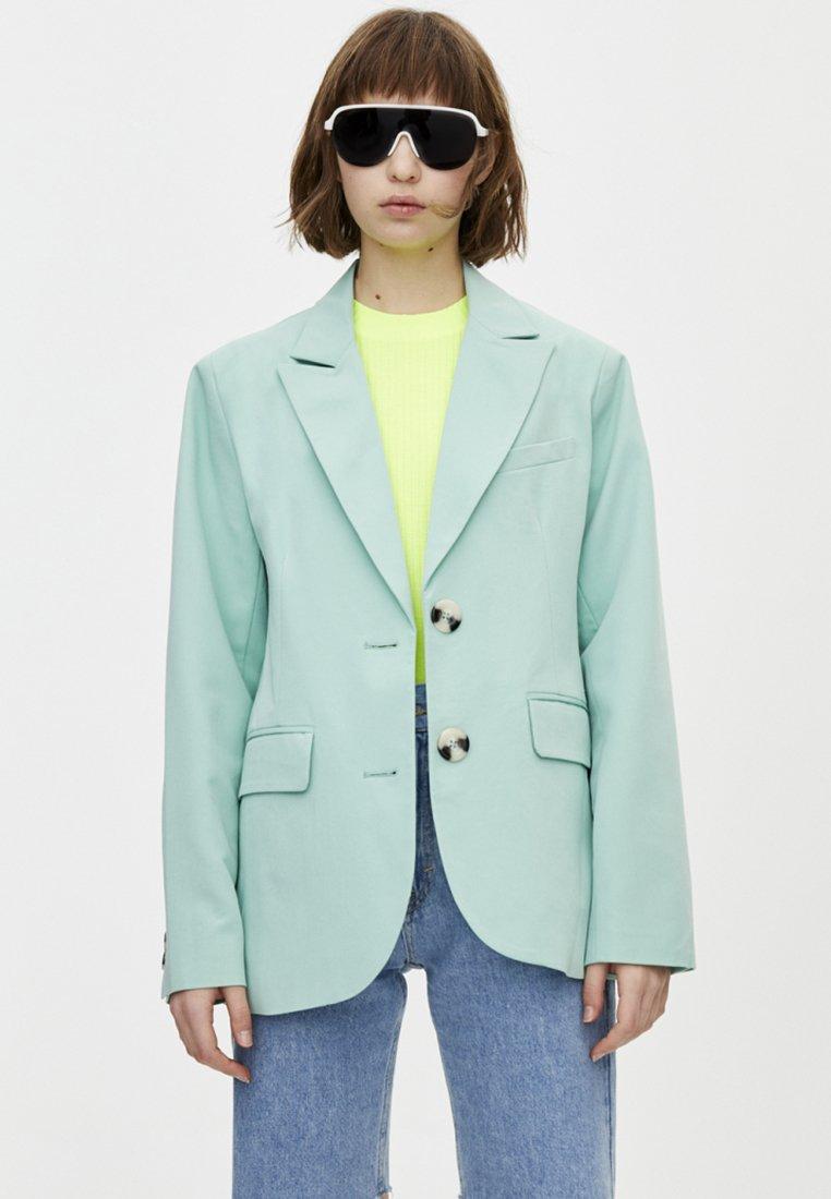 PULL&BEAR - Blazer - turquoise