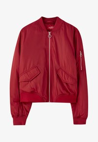 PULL&BEAR - Bomberjacks - red