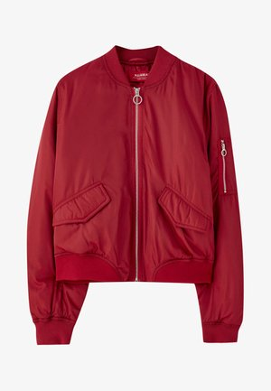 Bomber bunda - red