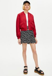 PULL&BEAR - Bomberjacks - red - 1
