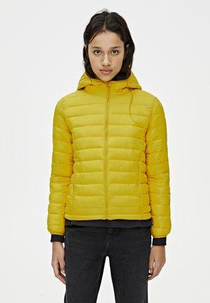 BASIC-STEPPJACKE AUS NYLON 09714333 - Kurtka zimowa - yellow