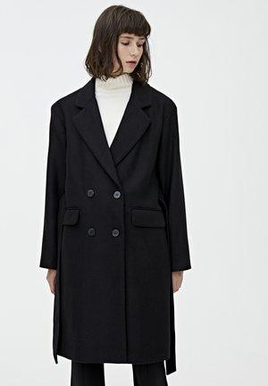 MIT GÜRTEL  - Manteau classique - black