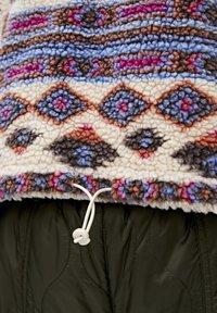 PULL&BEAR - Winter jacket - mottled beige - 5